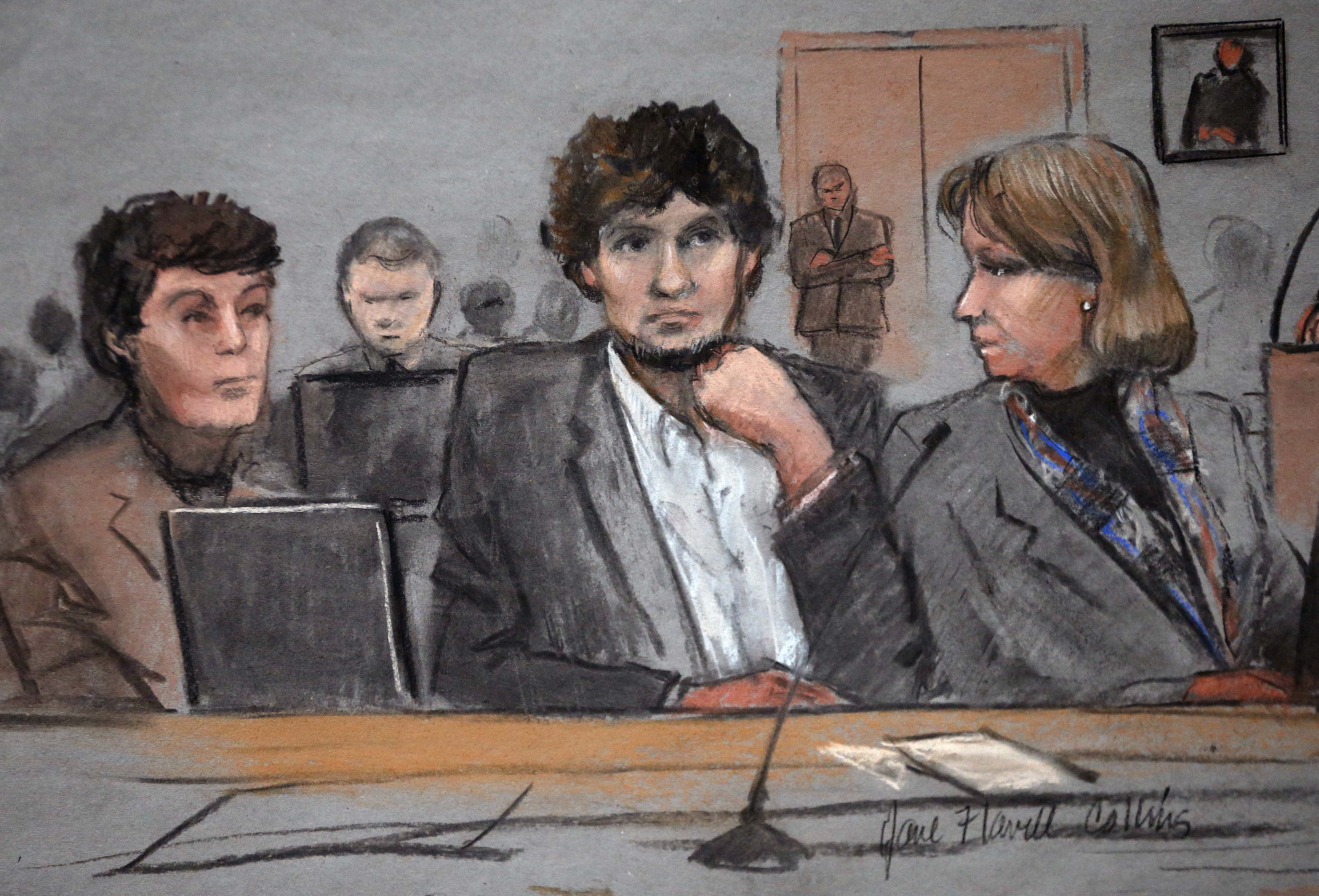 Father tells jury about boy's death at Boston Marathon
