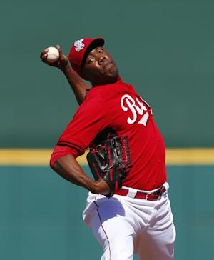 Reds activate Chapman, option Partch