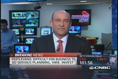 Fed's Evans: Uncertainties hurting Feds ability to make j...
