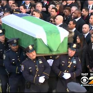 Officers From Around Country Stand Side By Side To Remember Slain Cop