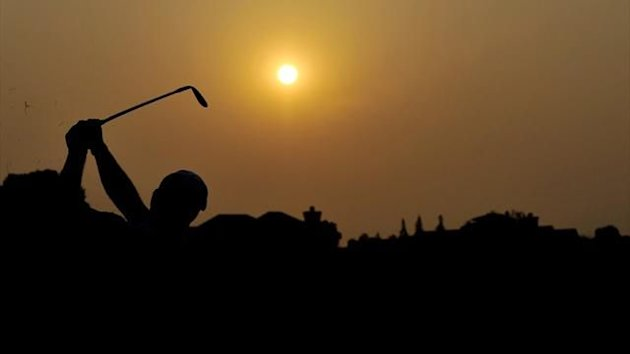 Generic shot of a golf player (AFP)