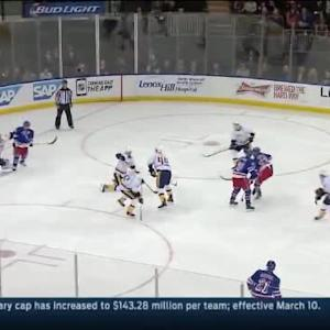 Pekka Rinne Save on Keith Yandle (04:09/3rd)