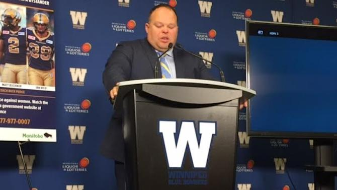 Blue Bombers, CFL sued over cancellation of Grey Cup contract