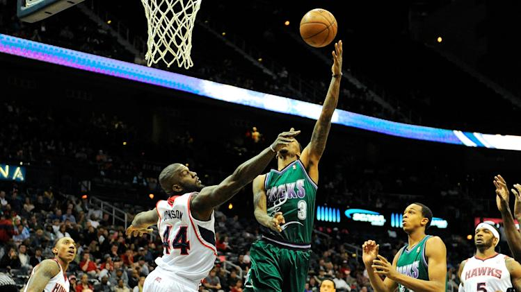 NBA: Milwaukee Bucks at Atlanta Hawks