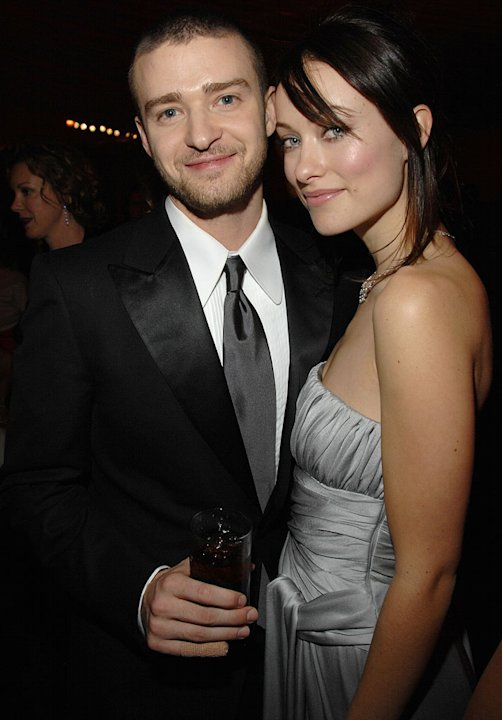 Justin Timberlake and Olivia Wilde at the In Style and Warner Bros. 2007 Golden Globe After Party.