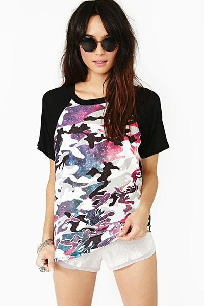 Cosmic army tee, $38 at nastygal.com