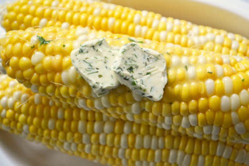 Corn on the Cob with Compound Butter