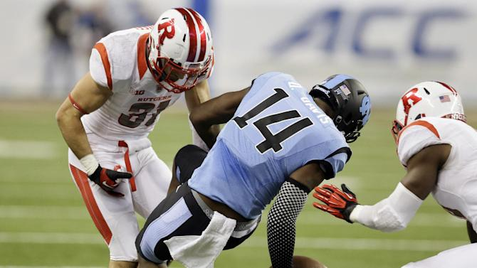 Rutgers beats North Carolina in Quick Lane Bowl