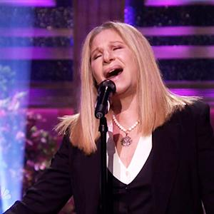 Streisand's First Late Night Appearance in 50 Years