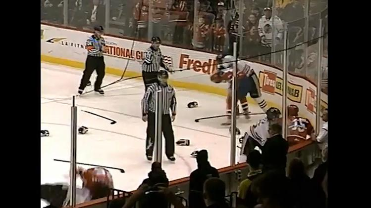 WHL brawl between Portland and Spokane