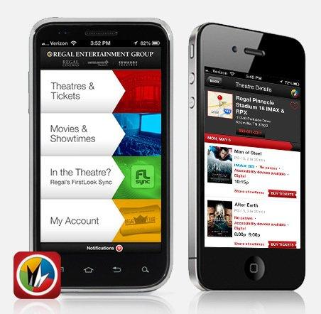 Regal Entertainment Group Announces 1 Million Downloads of the Regal App