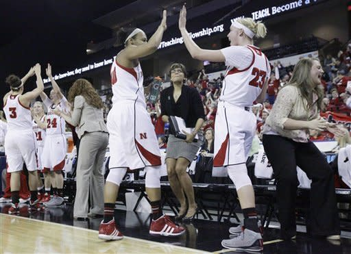 No. 21 Nebraska women defeat Iowa 76-61
