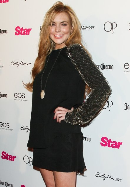 Lindsay Lohan steps out at …