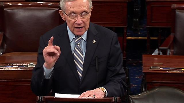 """Reid: With FAA furloughs, """"expect a long wait"""" at airports"""
