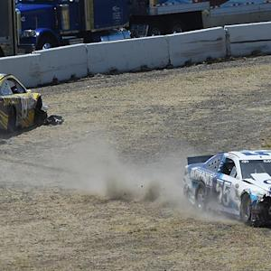 Ragan voices displeasure after second wreck