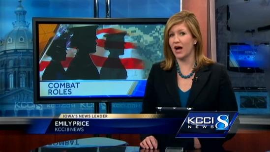 Military families react to change in combat roles