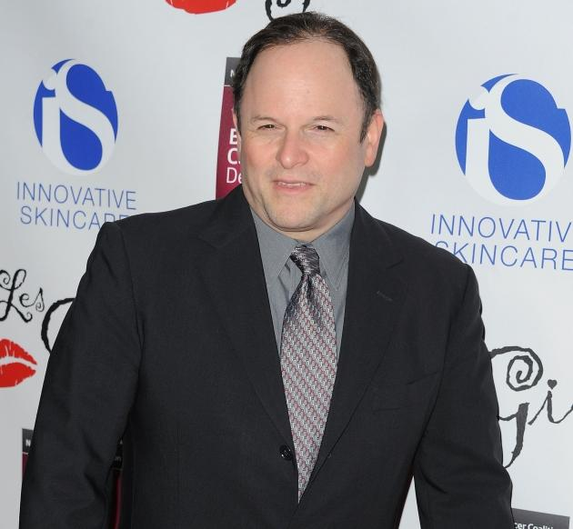 Jason Alexander arrives at the LES GIRLS 11th annual celebrity cabaret to benefit the National Breast Cancer Coalition Fund at Avalon in Hollywood, Calif. on October 17, 2011  -- Getty Images