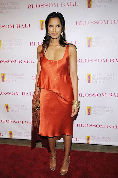 Padma Lakshmi attends the 1st Annual Blossom Ball at the Prince George Ballroom on April 20, 2009 in New York City.