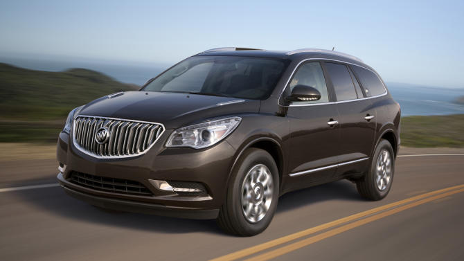 Fresh, second-generation Buick Enclave for 2013