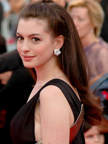Anne Hathaway rocks the red carpets.