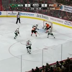 Darcy Kuemper Save on Jakub Voracek (01:23/2nd)