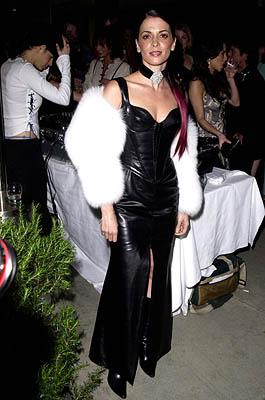 "Annabella Sciorra WWD's ""Black, White and Diamonds"" Pre-Oscar Party Beverly Hills, CA 3/21/2001"