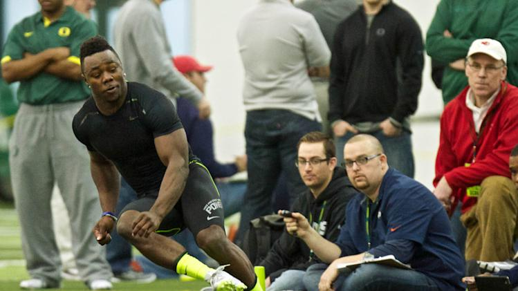 NCAA Football: Oregon Pro Day