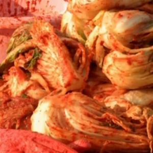Tons of kimchi for Korean winter