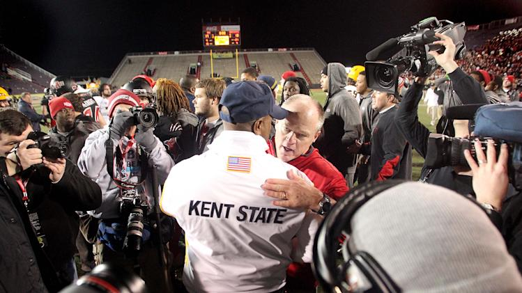 NCAA Football: GoDaddy.com Bowl-Kent State vs Arkansas State