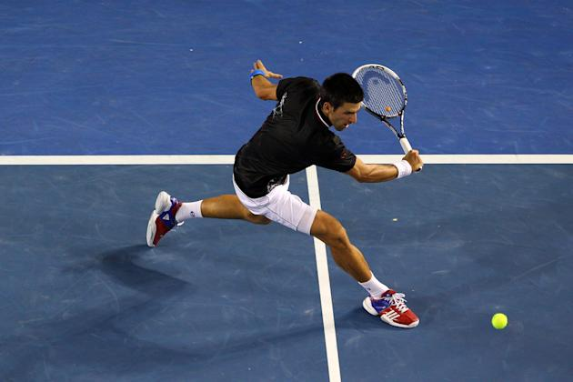 Tennis: Novak Djokovic won the men's title.