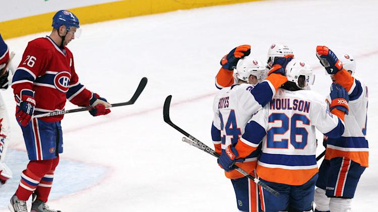 NHL: New York Islanders at Montreal Canadiens