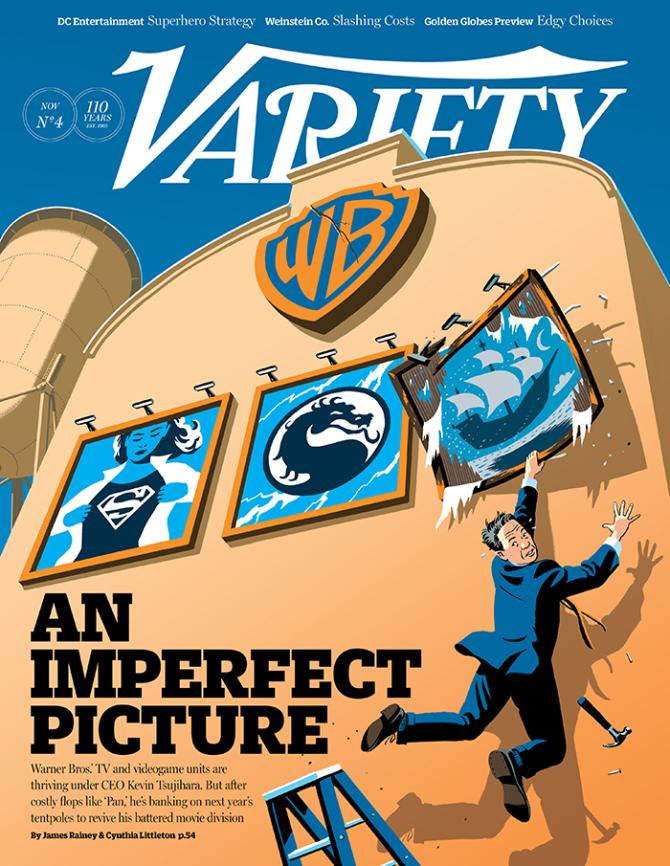 After a Rough Film Year, Can Kevin Tsujihara Lead Warner Bros. Back to the Top?