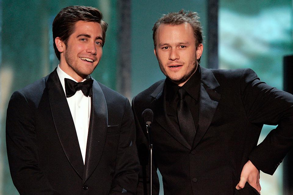 Jake Gyllenhaal 2006 Heath Ledger
