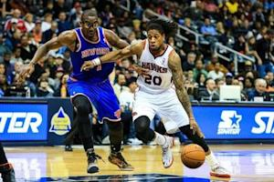 NBA: New York Knicks at Atlanta Hawks
