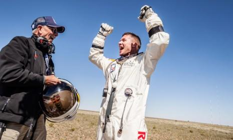 It took five years to plan Felix Baumgartner's Red Bull Stratos mission, and just 10 minutes for it to actually happen.