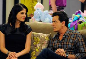 Charlie Sheen, Selma Blair | Photo Credits: Prashant Gupta/FX