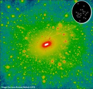 Lightweight Galaxy Is the Smallest Ever Found