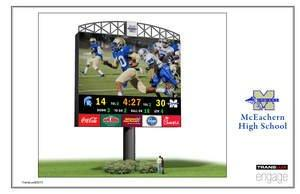 McEachern HS to Install Fair-Play by Trans-Lux Video Scoreboard