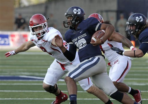 Williams scores in OT, Utah State beats Utah 27-20
