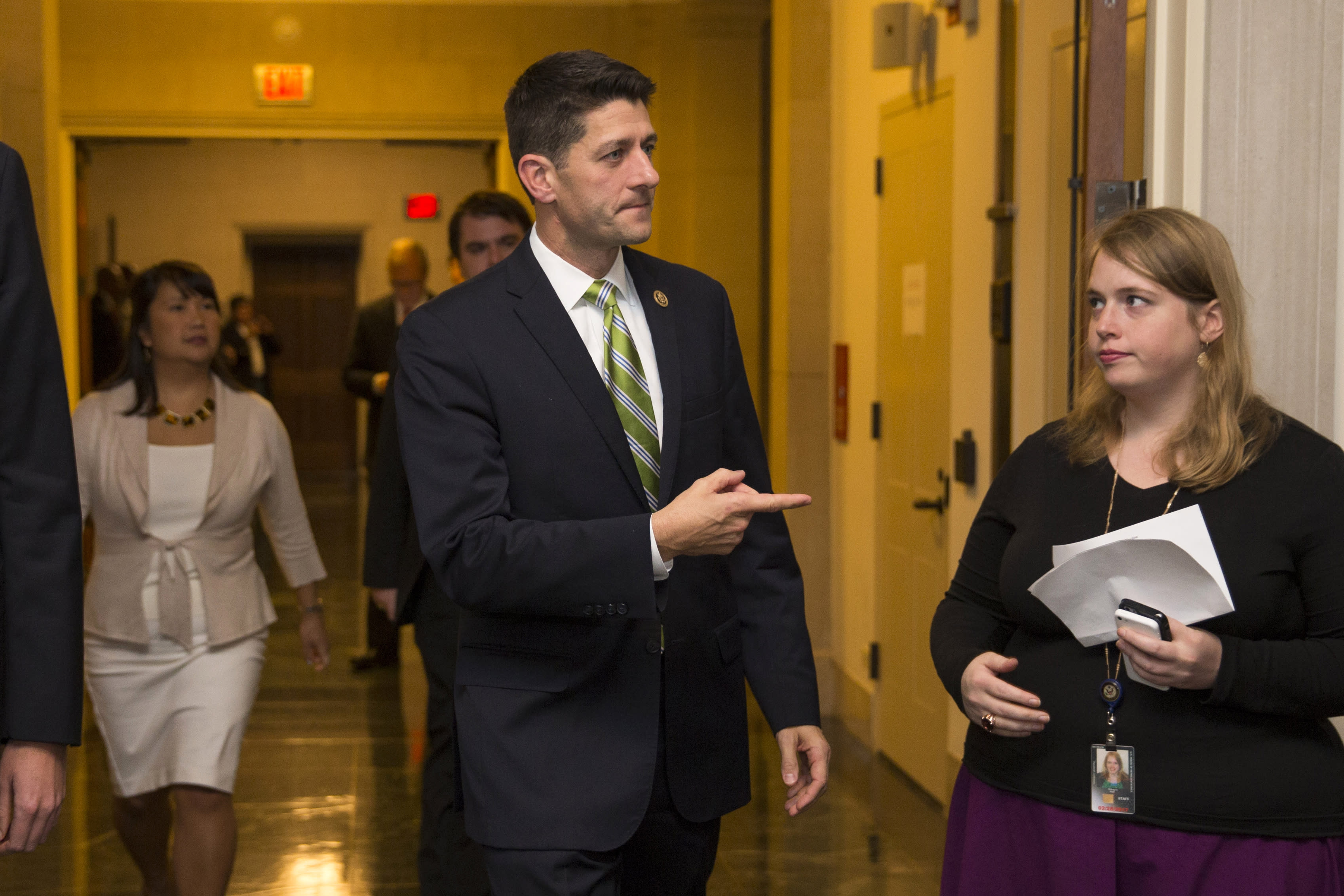 Paul Ryan weighs pros, cons of becoming next House speaker