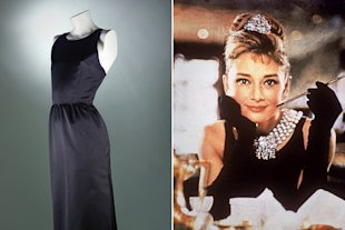 The most famous piece of clothing in the movie is a black Givenchy dress.
