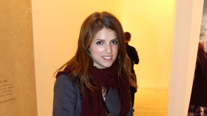 "Anna Kendrick attends a screening of ""Ginger and Rosa"" hosted by FIJI Water on Thursday, Nov. 8, 2012 in Beverly Hills, Calif.  (Photo by Matt Sayles/Invision for Fiji Water/AP Images)"