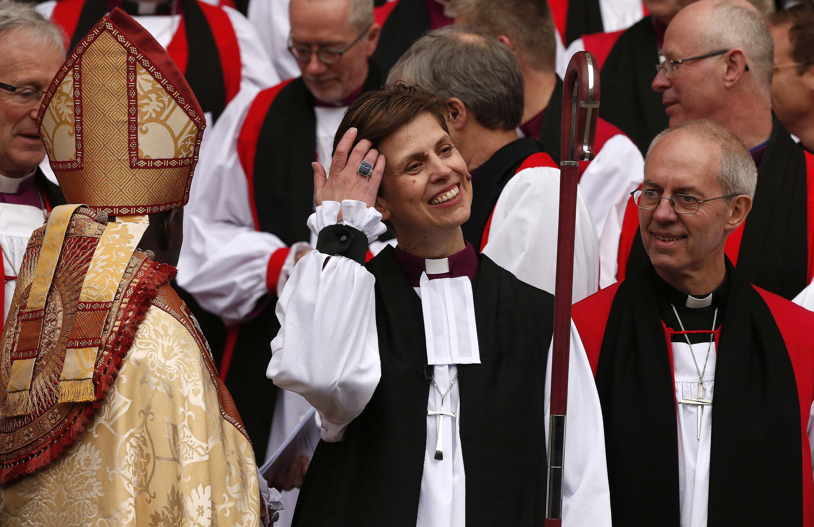 Church of England consecrates first woman bishop