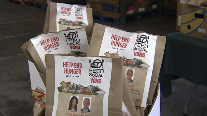 Feed SoCal: Help end hunger by donating today