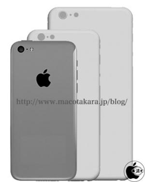iPhone 6 phablet will reportedly look more like an iPhone 5c than an iPhone 5s