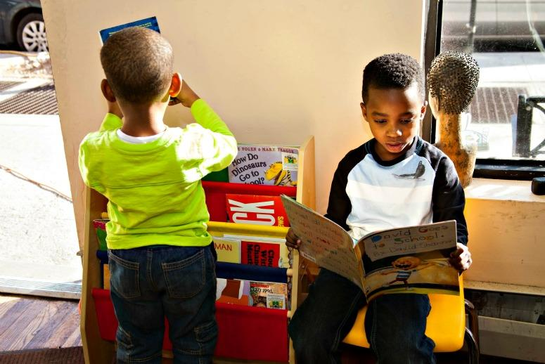 Haircuts and Harry Potter: Project Sparks Black Boys' Love of Reading
