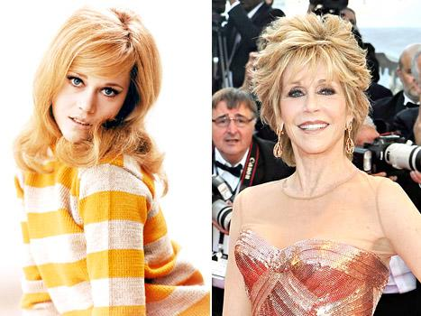 "Jane Fonda Turns 75, Credits Youthful Looks to ""Good Genes"" and ""Money"""