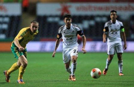 Soccer - UEFA Europa League - Group A - Swansea City v Kuban Krasnodar - Liberty Stadium