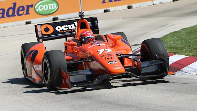 Will Power wins 1st of 2 Detroit Grand Prix races