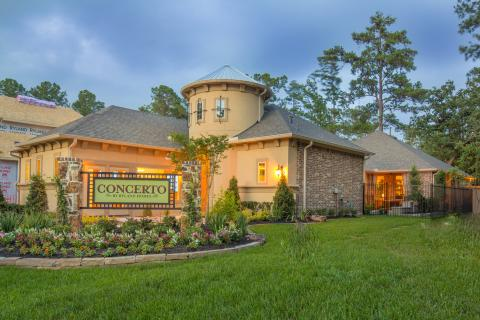 Ryland Homes Introduces a New Home Series – The Woodlands Concerto Courtyard